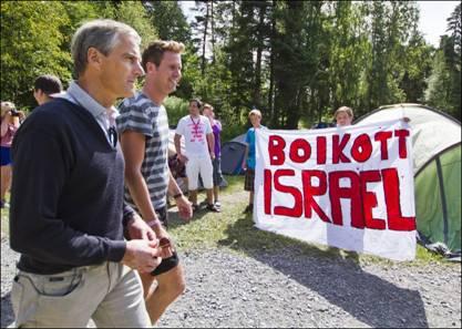 L'antisionisme justifié par la Norvège par Victor Perez