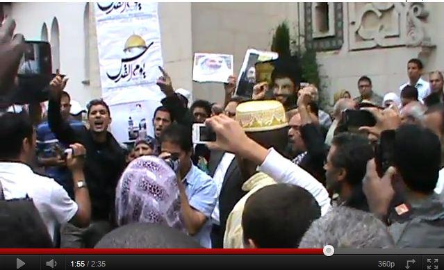 Vidéo : en plein coeur de Paris appel au Jihad