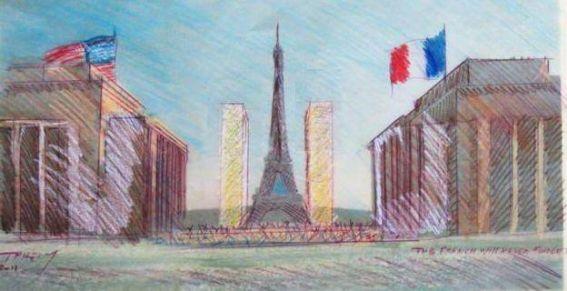 Commémoration solennelle du 11 septembre 2001 au Trocadéro, suivie d'un concert hommage
