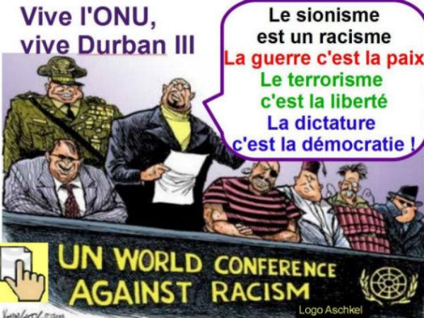 Durban III. La farce onusienne l'ONU: point de vue arabe.
