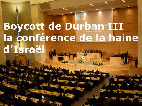 Indécence et ignominie au sommet Durban III par Guy Millière