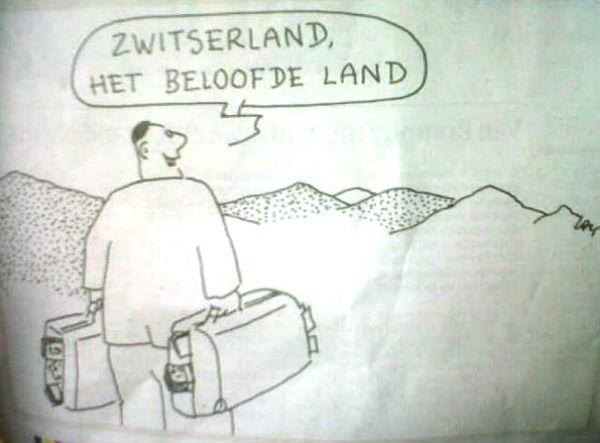 Belgique: caricature antisémite dans le journal flamand De Morgen !