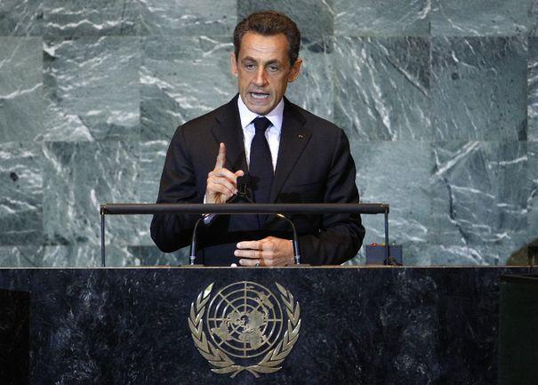 ONU : Sarkozy propose un statut d'observateur pour la Palestine