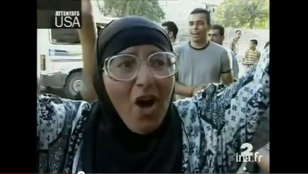 Attentats du 11 septembre, réactions de joie des palestiniens…