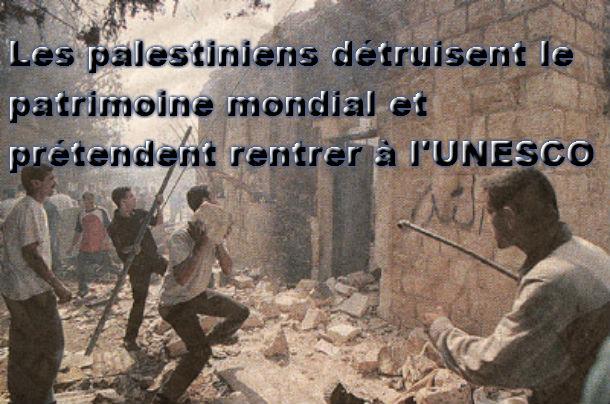 Les Palestiniens revendiquent « leur patrimoine mondial », auprès de l'UNESCO.