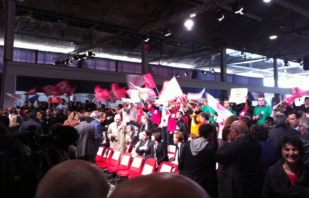 Hessel invité star de l'investiture de Hollande