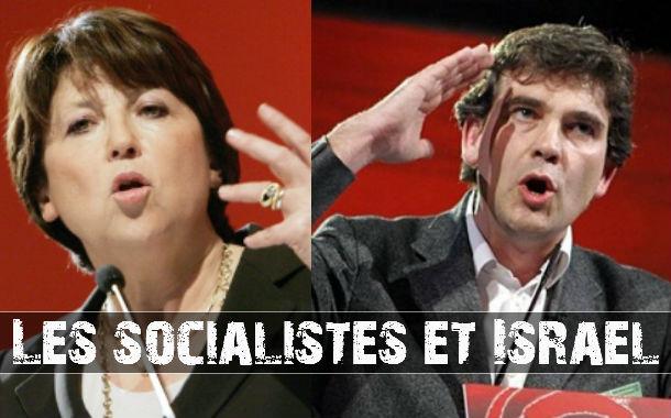 Les candidats socialistes et Israël: Aubry et Montebourg farouchement anti-israéliens.