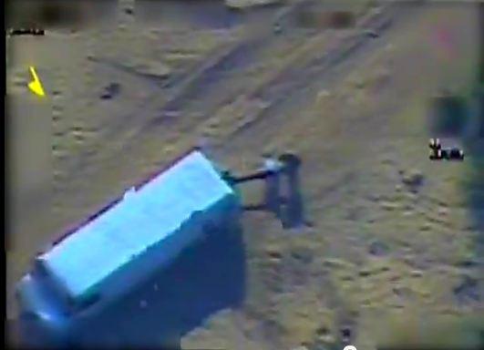 Vidéo – Communiqués officiels : L'armée de l'air cible un terroriste qui s'apprêtait à tirer des roquettes sur Israël