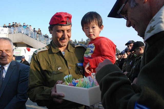 Une délégation israélienne en visite au Japon