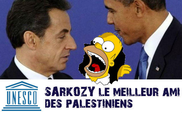 UNESCO : Obama exprime «fermement» son mécontentement à Sarkozy
