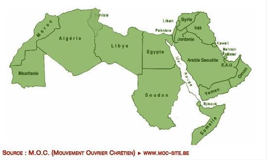 Le MOC (Mouvement Ouvrier Chrétien) raye Israël de la carte