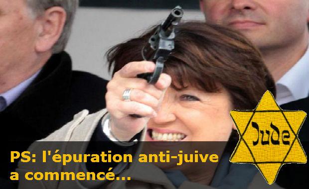 France: Parti socialiste, Aubry a enteriné le non-renouvellement du mandat de six députés socialistes et juifs