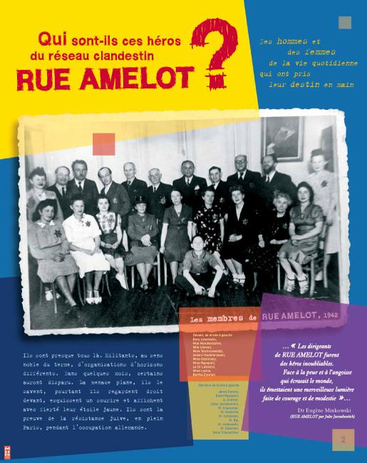 Exposition «Rue Amelot un réseau clandestin pendant la guerre»