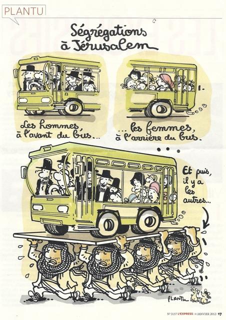 Caricature de Plantu dans l'Express : humour et antisémitisme