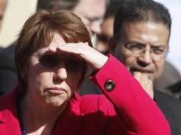 Catherine Ashton : La femme qui rit dans les cimetières