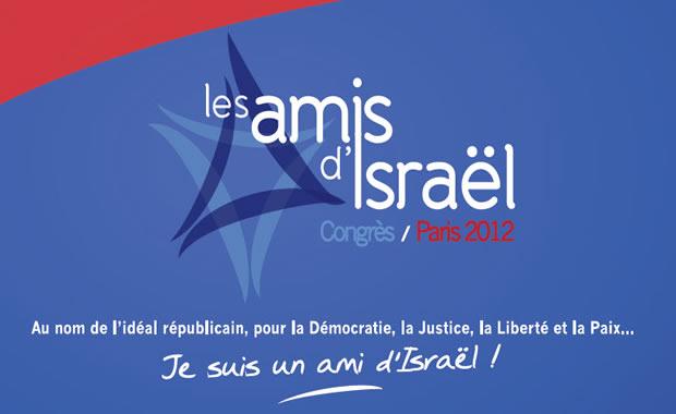 Premier Congrès des Amis d'Israël en France mardi 3 avril 2012 à la Mutualité