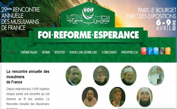 Europe Israël dénonce la participation des islamistes Tarik Ramadan et Cheikh Yusuf Al-Qardawi qui prêchent la haine des Juifs à la rencontre des Musulmans de France !