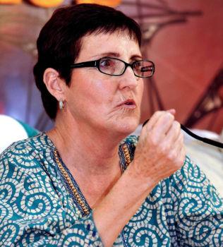 Une écrivaine anti-israelienne interdit en Inde