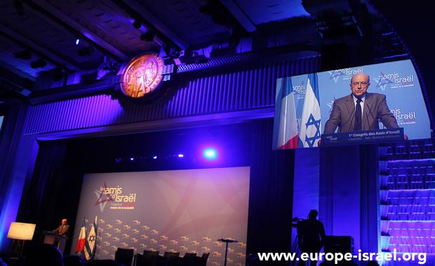 Beau succès du premier congrès des amis d'Israël en France