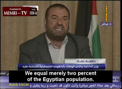 Vidéo – Hamas : Le ministre de l'intérieur du Hamas dit la vérité !