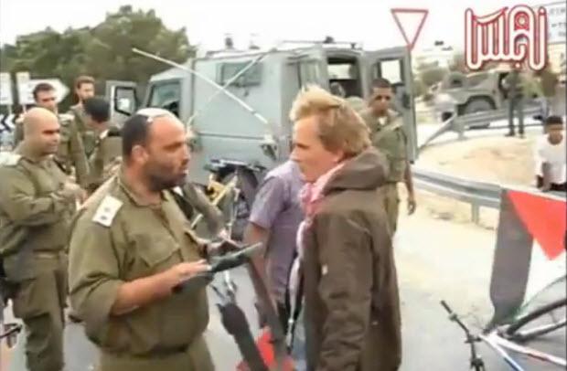 Un coup de crosse bienvenue – Examen d'une vidéo anti-israélienne