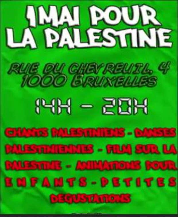 Vidéo : 1er mai 2012, de Bruxelles à Gaza : résistance, résistance
