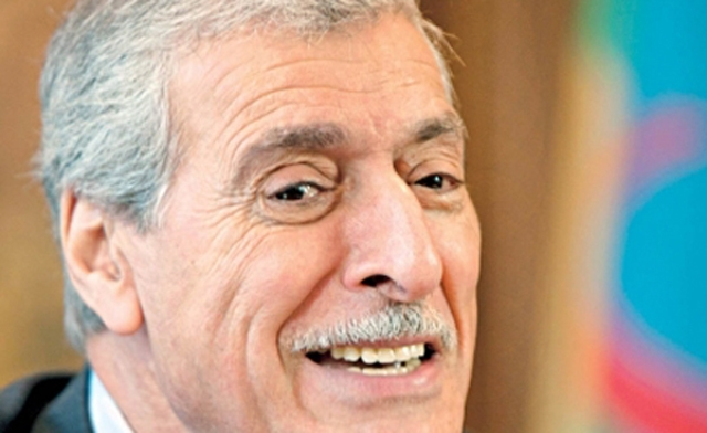 Mehenni Ferhat, le président du Gouvernement Provisoire Kabyle, en Israël