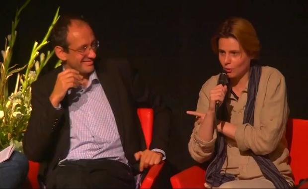Débat en Israel: Finkielkraut et Fourest débattent autour de la laicité