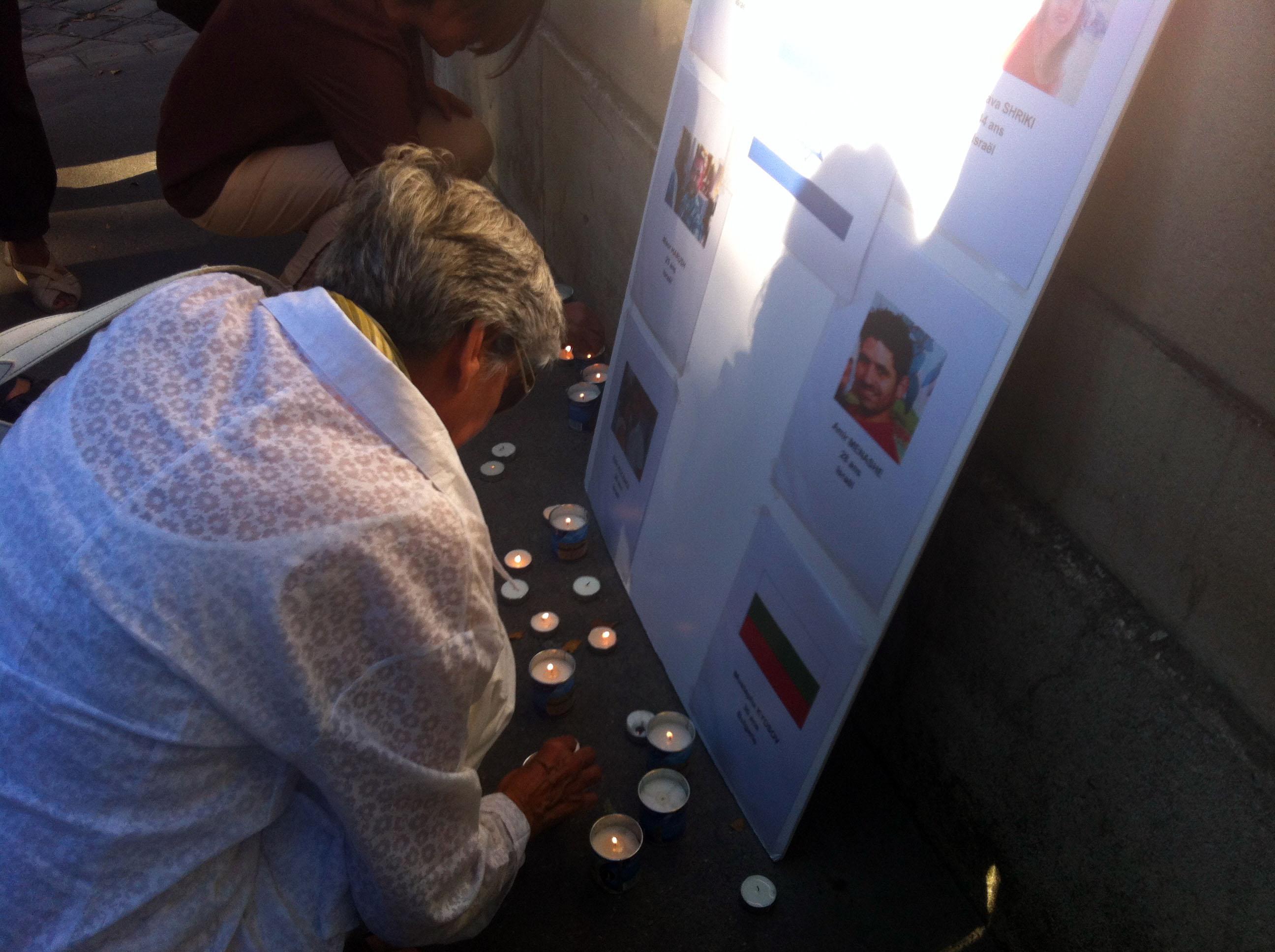 Compte rendu de la manifestation à la mémoire des victimes israéliennes en Bulgarie