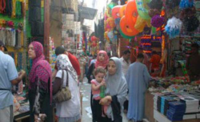 Egypte : Le Caire, le quartier Juif, sans juifs
