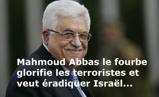 Négociations israélo-palestiniennes: Mahmoud Abbas négocie d'un côté et incite au terrorisme de l'autre…