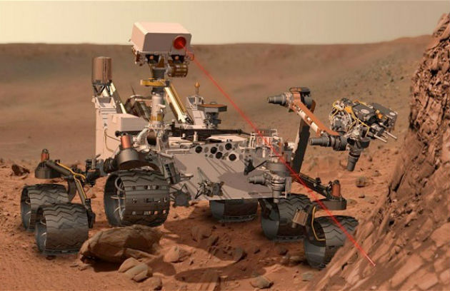 La technologie israélienne sur Mars !