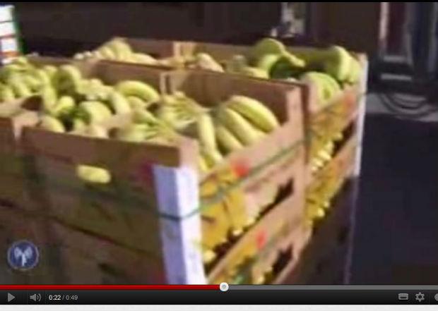 Vidéo : Tsahal assure le passage de marchandises d'Israël vers Gaza