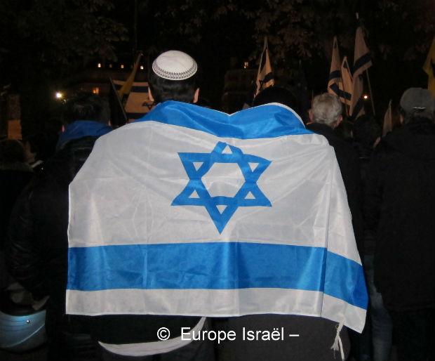 Lettre de soutien du parti Belge N.W.A envoyée à l Ambassade d'Israël à Bruxelles