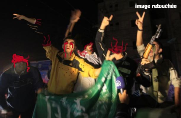 Gaza ou l Art de fêter une raclée