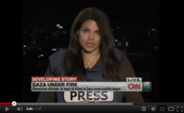 CNN: LE HAMAS TIRE DES ROQUETTES A PARTIR DE ZONES PEUPLEES DE CIVILS