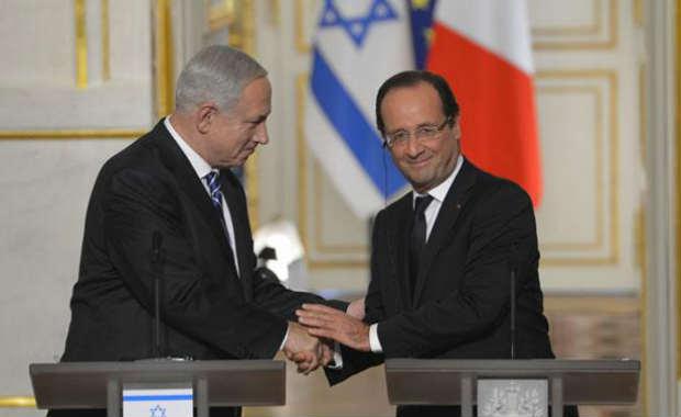 Où doivent vivre les juifs français? Hollande et Netanyahu en désaccord