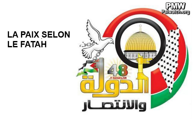 Le nouveau logo du Fatah efface Israël du monde
