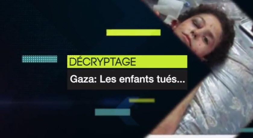 Vidéo: Gaza les faux enfants tués… Décryptage sur la manipulation palestinienne des images