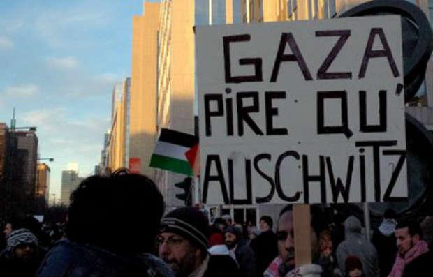 La gauche française se moque des palestiniens, elle n'est intéressée que par la condamnation d'Israël, façon politiquement correcte d'exprimer son antisémitisme…