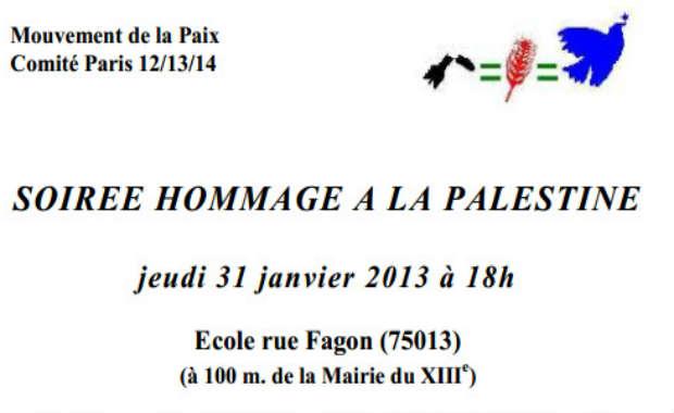 L'Ecole publique rue Fagon dans le 13ème à Paris va devenir un haut lieu de la propagande islamo-palestinienne !