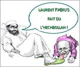 Duplicité avec les islamistes du Hezbollah : Fabius responsable et coupable !, par Alon Gilad