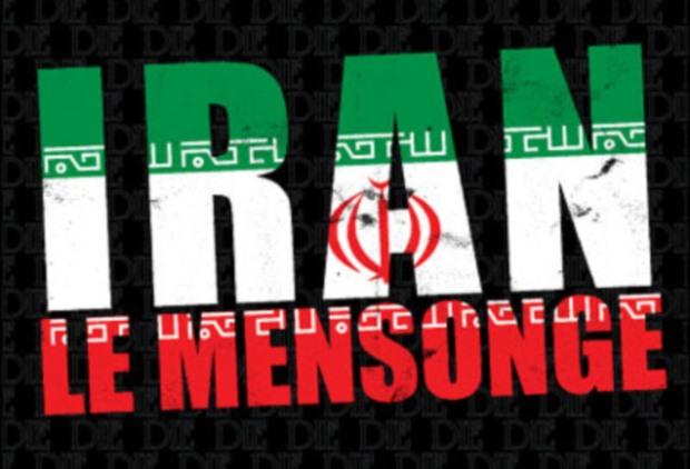 Iran le spectacle continue: l'avion de combat photoshopé