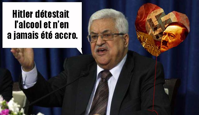 La Machine à Mentir palestinienne félicite Obama, diffame l'Amérique et déclare son amour pour Hitler