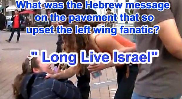 Vidéo : des activistes BDS agressent des jeunes pro-israéliens en Californie