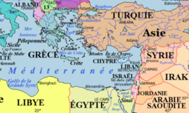 carte europe israel