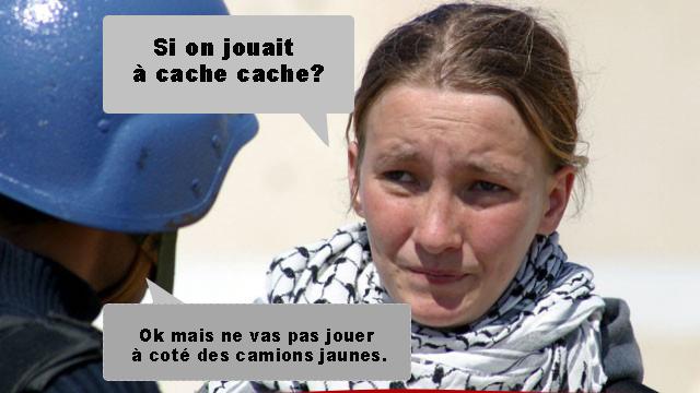 Rachel Corrie: les palestiniens adorent utiliser des non musulmans comme boucliers-humains et en faire des martyrs