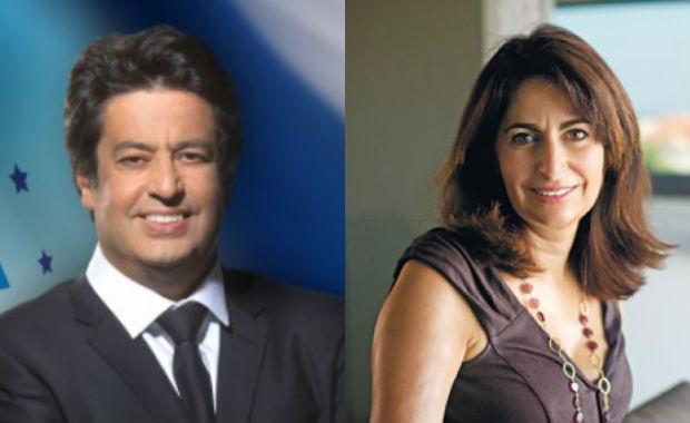 8ème circonscription: Meyer Habib et Valérie Hoffenberg au 2nd tour. Jonathan Simon Sellem, 3ème en Israël.