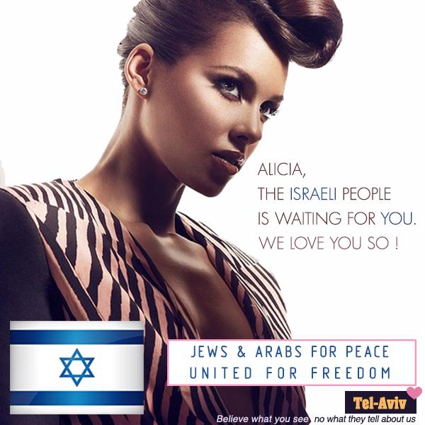 ALICIA ISRAEL LOVE YOU  !