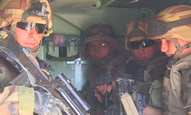 Exclusivité: les images de l'armée française au Mali